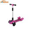 Customization cheap pink kids kick scooter with light wheel