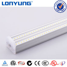 100 lm/w Korea Dual Integrated T5 LED Tube Light 9w 18w 60w Double Tube5 LED Fluorescent Lamp