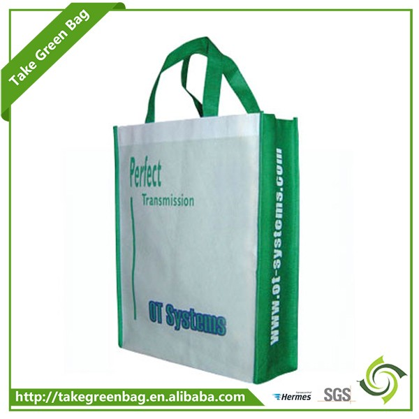 2017 Promotion non woven reusable shopping handled bag