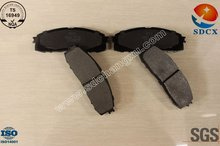 brake pad D304 for Toyota rear