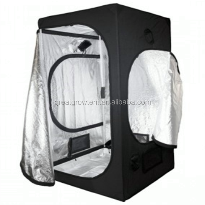 120 x 120 x 240cm grow tent material / grow tent kit for hydroponic use
