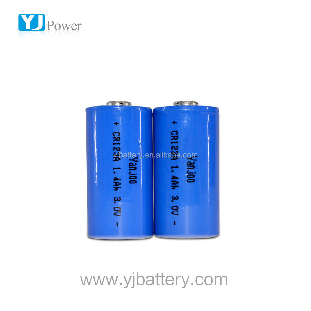 cr123a lithium battery rate cr123a 3v Li-MnO2 battery power wheelchair with lithium battery for EV, telecom, solar energy