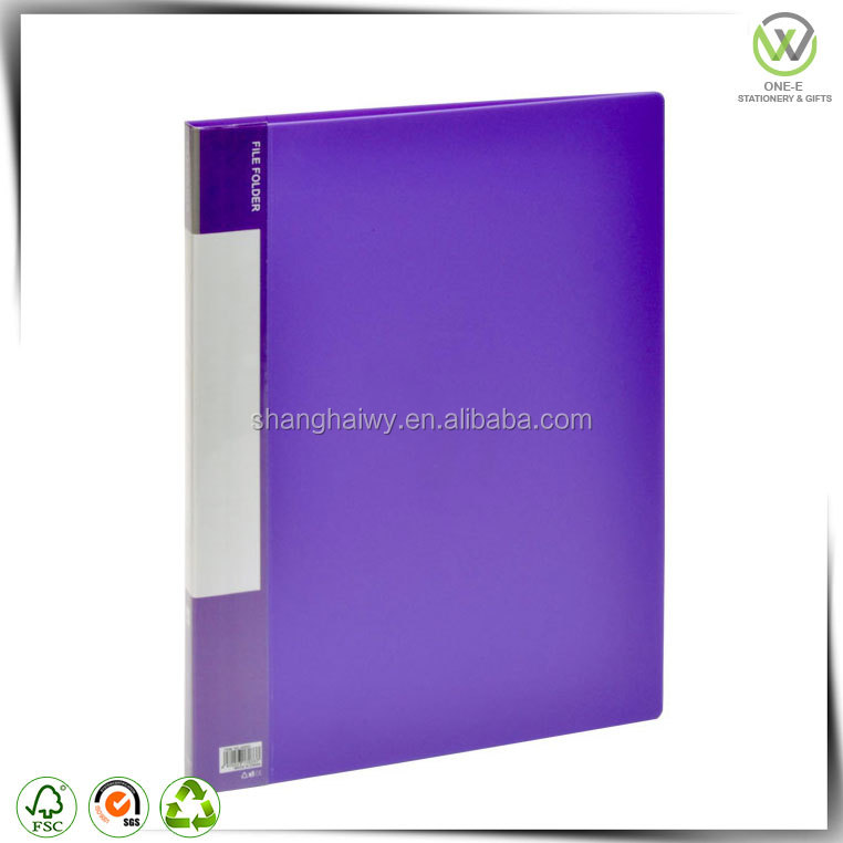 Trade Assurance TOP1 stationery factory file folder with spring clip