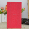 2017 latest design ultra slim flip pu leather cover for book