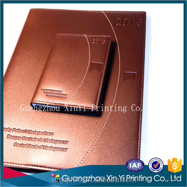 Sewing binding luxury notebook business note book provide