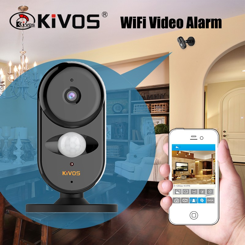 Home security wifi camera wireless security alarm system wifi/ip camera with alarm