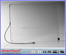 "GT-SAW-15.1C-4FS 15"" transparent touch glass SAW touch screen elo touch screen for POS ATM Machine Industrial Machine"