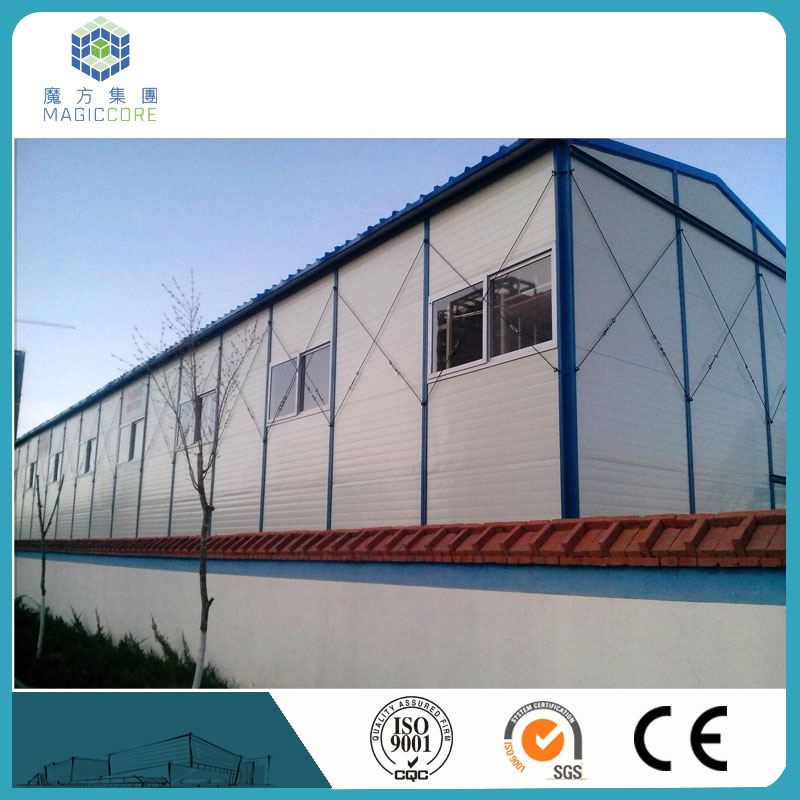 Hot selling quick assembly low cost portable cabin with modern well designed