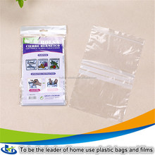 Plastic bag factory direct sell large resealable plastic bags with waterproof
