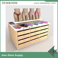 Boutique display cabinet for lingerie underwear display rack for bra store