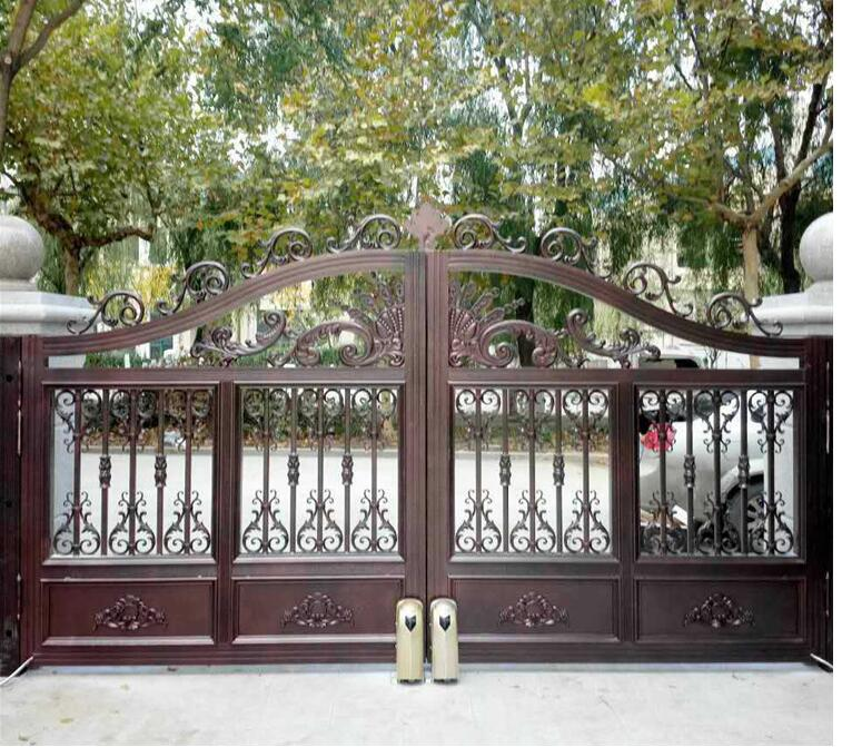 Beautiful aluminium main gate designs