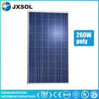 high quality 260 watt poly silicon solar panel for solar power system home
