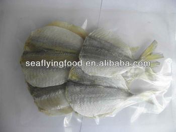 Dried yellow stripe fish seafood snack