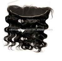 100% Virgin Human Hair 13X4 lace fronta in Stock Custom 13x6/13X8 lace frontals with baby hair