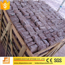 China red porphyry cobblestones for outside garden