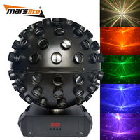2016 New arrival stage effect light 5pcs 18W RGBWA+UV 6in1 LED magic disco ball light