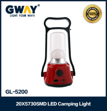 rechargeable battery electric plastic camping lantern 10w 20pcs smd