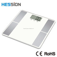 Body fat analyzer Electronic body fat scale BMI, Calorie, Bone, Muscle, Hydration, Body fat