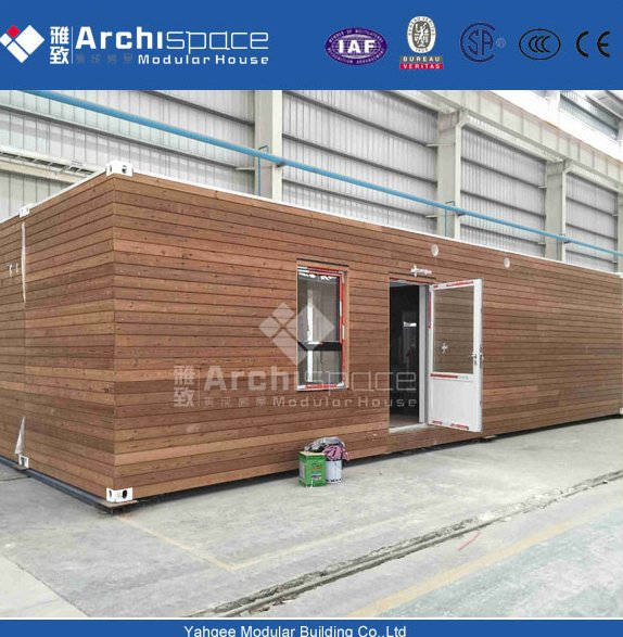 CYMB prefabricated wooden house in china