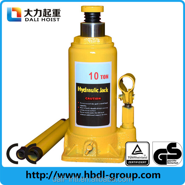 10 ton Car Lift Manual Small Lifting Jack Bottle Hydraulic Jack