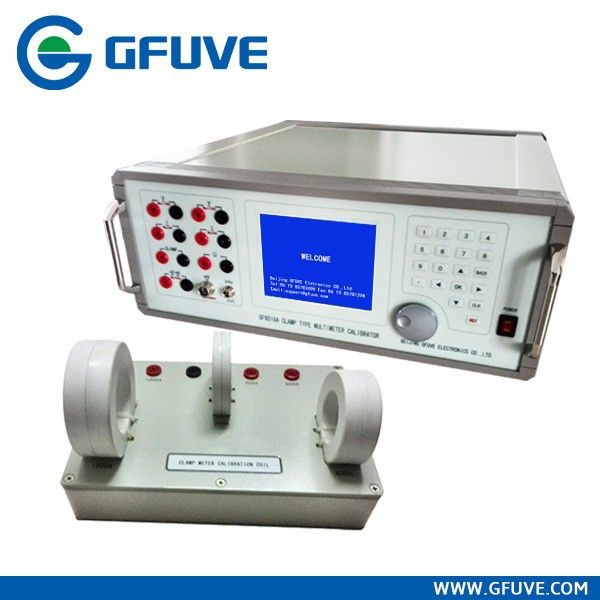 Smart multifunction Instrument Calibration equipment GF6018A Clamp-on type energy meter calibrator