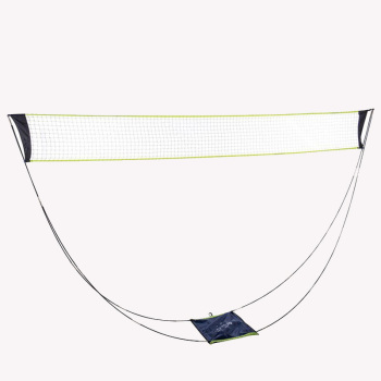 Portable Moveable Tennis Net Badminton Net with poles