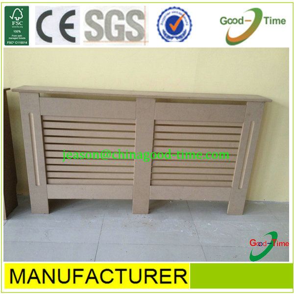 new design radiator cover for Europe,painting mdf radiator cover