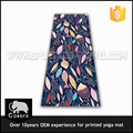 2016 New Arrival Waterproof Fashion Custom Printed PVC yoga mat backpack