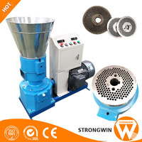soybean meal feed mill pellet machine