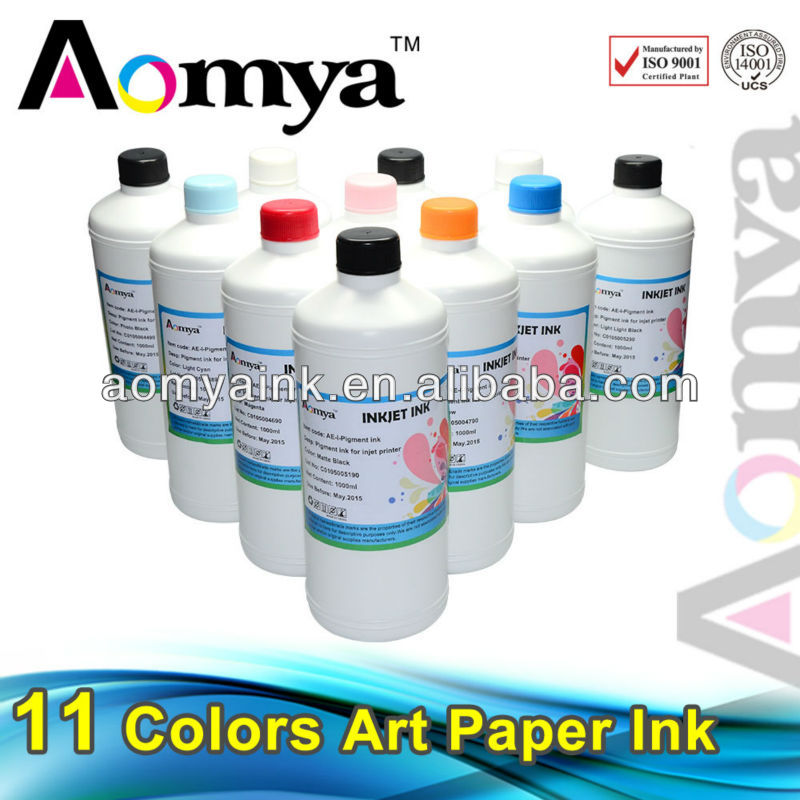 Aomya art paper injet ink for Epson wide format printer