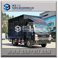 JAC 4X2 5T van type truck light duty van cargo truck