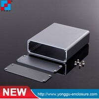 China Custom 1590A Electronics Aluminum Enclosure Box , Guitar Effect Aluminum Enclosure