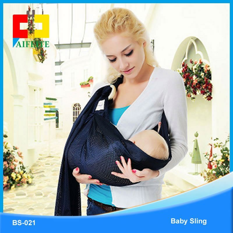 organic cotton spandex baby wrap sling