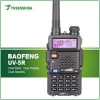 Long range best price Dual Band Handheld 5W Baofeng BF-UV5R Walkie Talkie