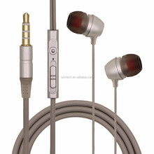 Phone accessories mobile earphone in-ear stereo headset for xiaomi
