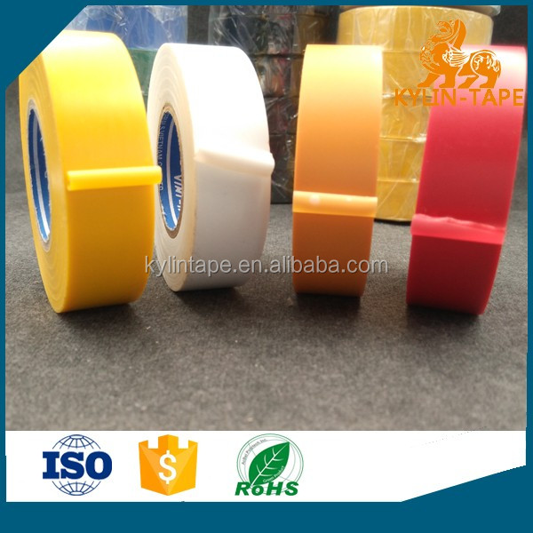 0.15mm fireproof rubber glue PVC electrical insulation tape with best quality