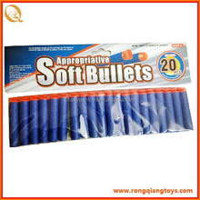 Cheap price soft bullet gun nerf darts toy for kids GS02490220