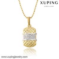 31408 Popular fashion pendant necklace, professional design multicolor jewelry modern pendant