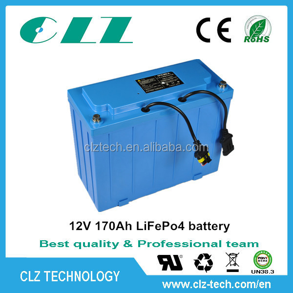 Lithium Iron Phosphate LiFepo4 Battery Pack 12V 200Ah With PCM For Energy Storage
