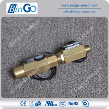 Brass or Copper Flow Sensor Indicator for Hot Water System