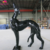KANO4846 Forest Deco Fiberglass Wolf Statue For Sale