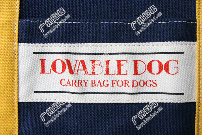 2015 LOVABLEDOG style Pet supplies shoulder bag can be portable Breathable dog bag canvas bags