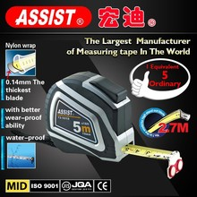 China manufacture 3m 5m 7.5m plastic retractable abs steel tape measure promotional