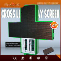 PanaTorch Double Sided P10RG Digital Billboard Display IP65 Waterproof hot sell For clinique
