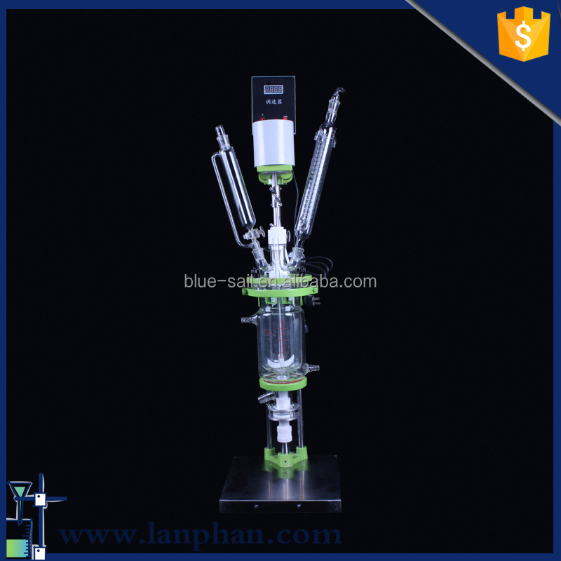 Best Good Price Experimental Coil Glass Reactor for Universities