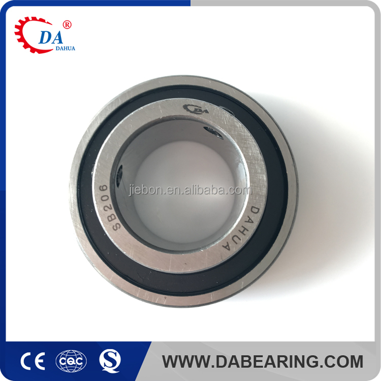 Made in china spherical ball bearing SB206 farm textile machine parts SB200 series