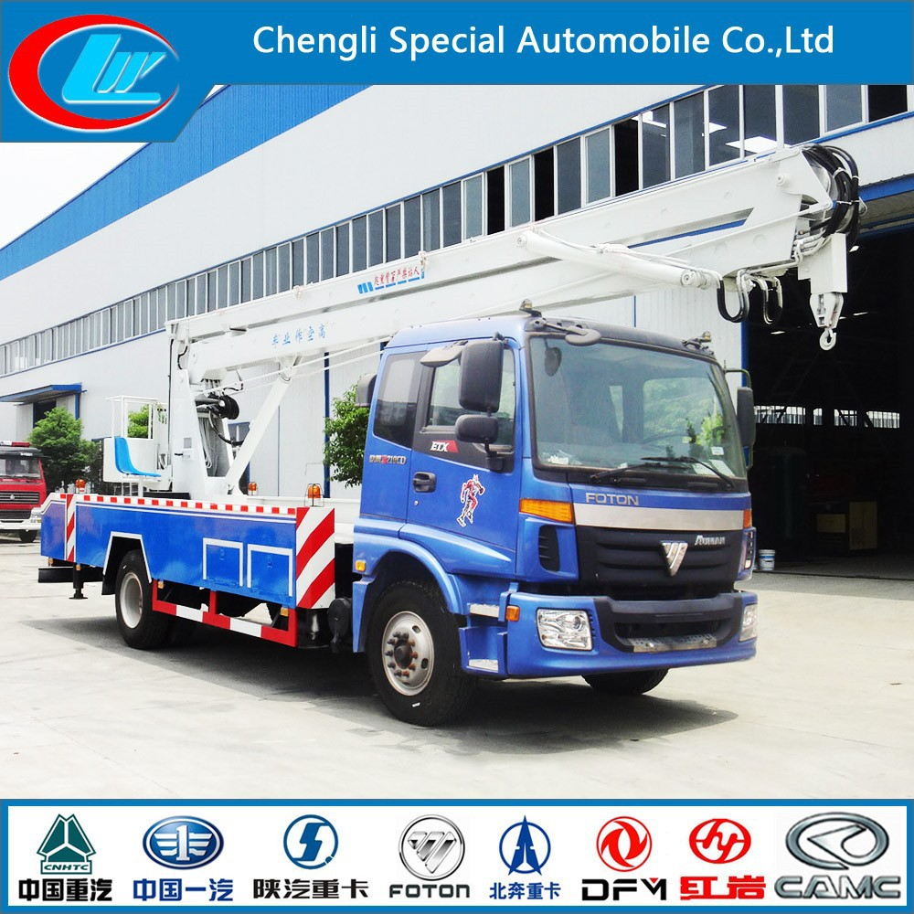 Factory supply high-up truck elevated working platform truck