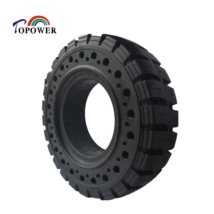 Best selling forklift solid <strong>tyre</strong> 7.00-12 with sidehole 700-12