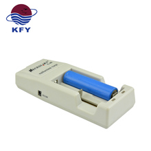 Single use mobile 2 slot 4.2v 18650 18500 battery charger of 0.3% damage rate