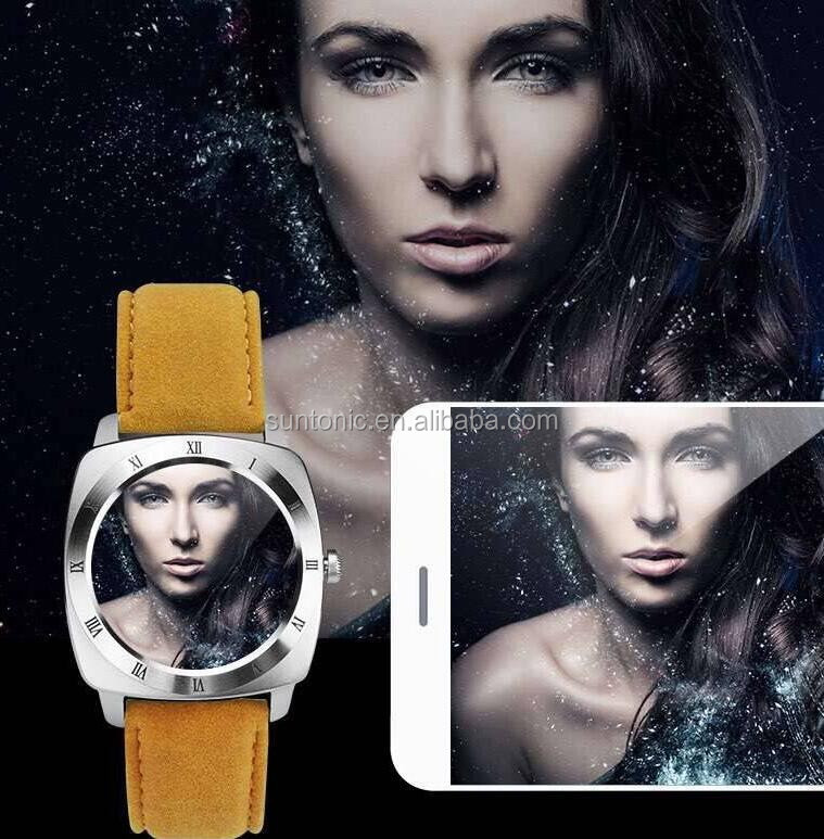 Round shape smart watch wtih camera,tf card and sim card slot